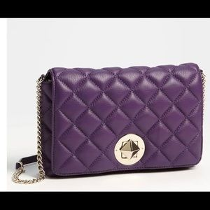 Kate Spade Gold Coast Meadow Leather Shoulder Bag
